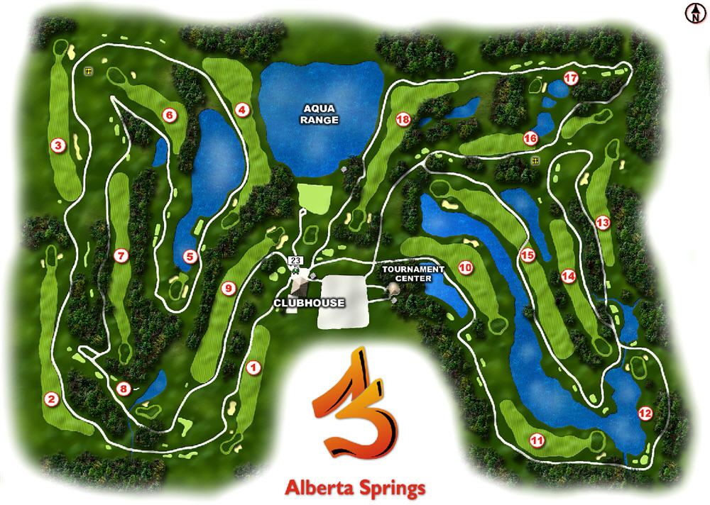 Alberta Springs Layout